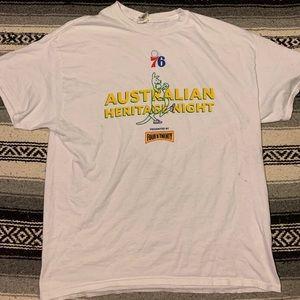 Philadelphia 76ers Australian Heritage Night Tee